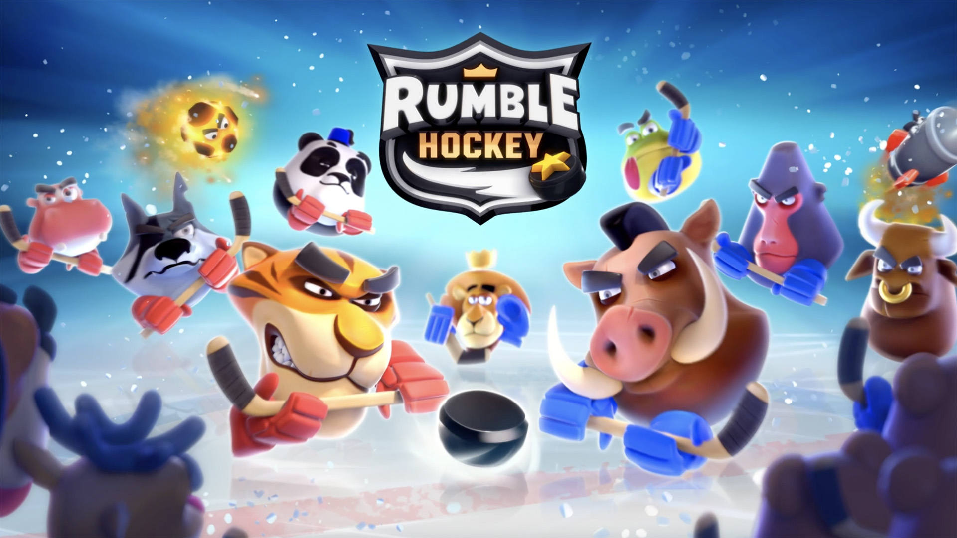 rumble hockey global launch